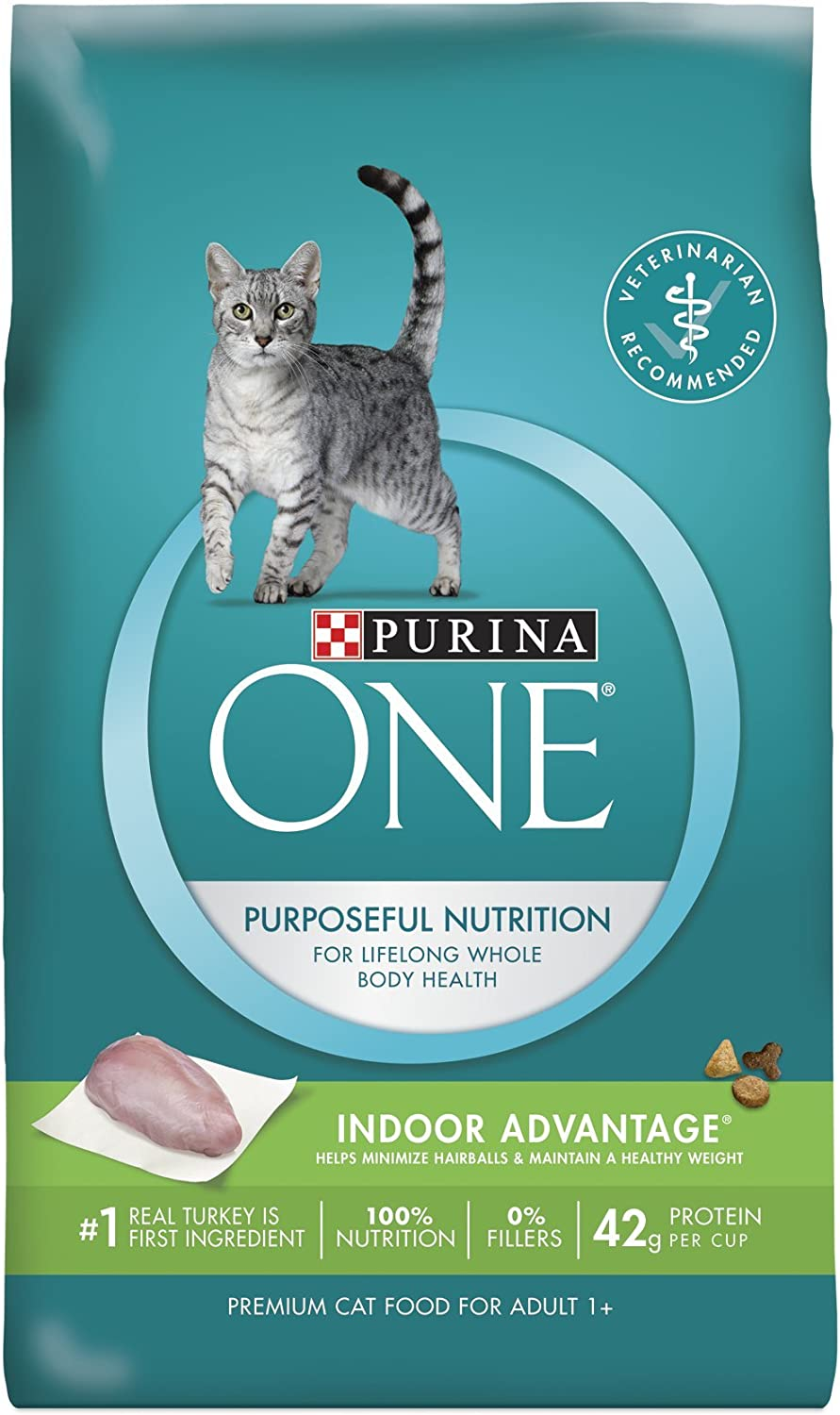 Purina ONE Dry Cat Food, Indoor Advantage, 7 Pound