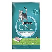 Purina ONE Indoor Advantage Adult Premium Cat Food, 22lb Bag