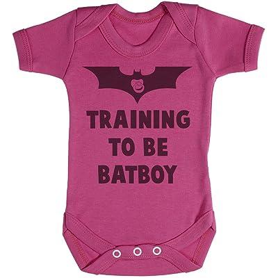 Baby Buddha Training To Be Bat Boy Body bébé - Gilet bébé - Body bébé ensemble-cadeau - 6-12 mois Rose