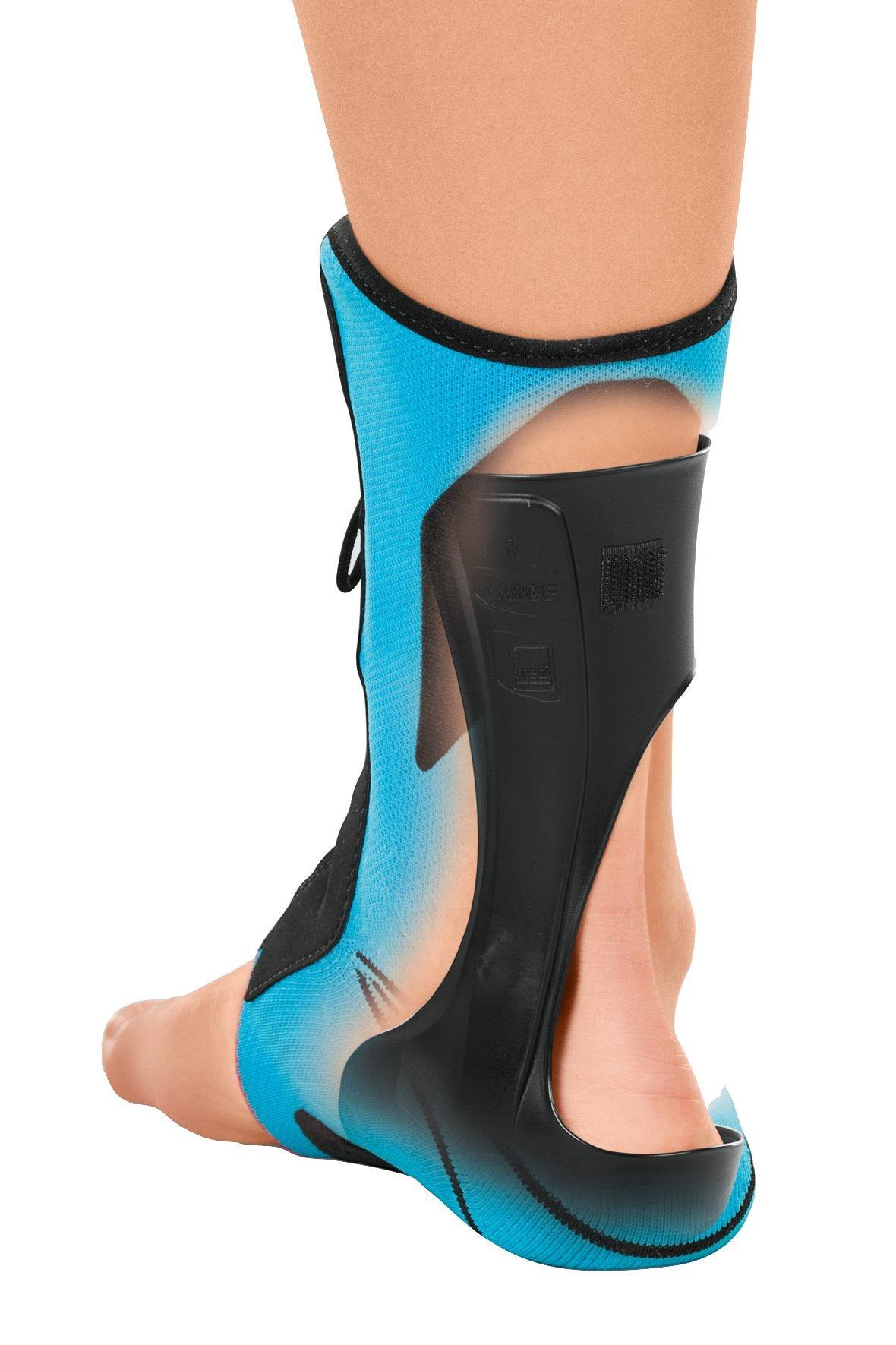 Medi Levamed Stabili-Tri Knit Ankle Support (Blue) Left Size I by Medi (Image #3)