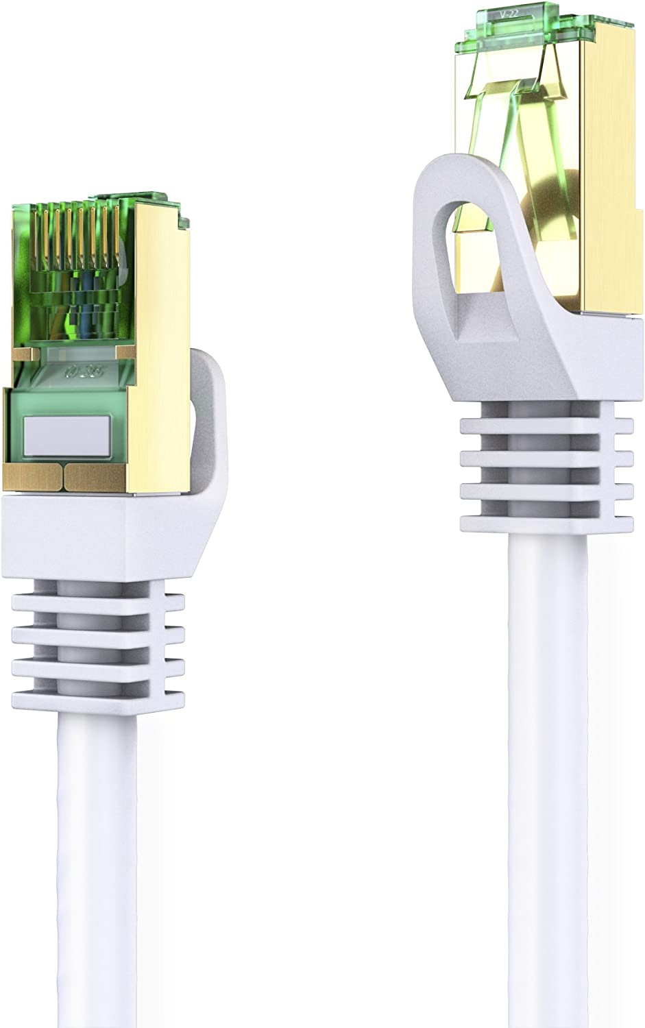 Conecto Network Cable Ethernet Cable White White 20,0m Connection Cable