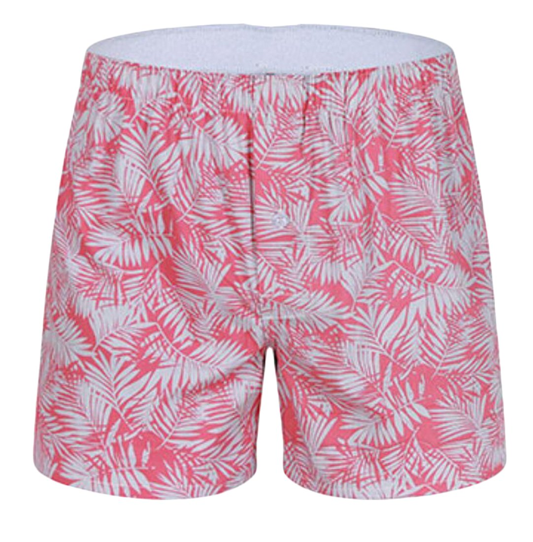 KLJR Men's Funny Print Boxer Shorts Cotton Underwear Boxer two US XL