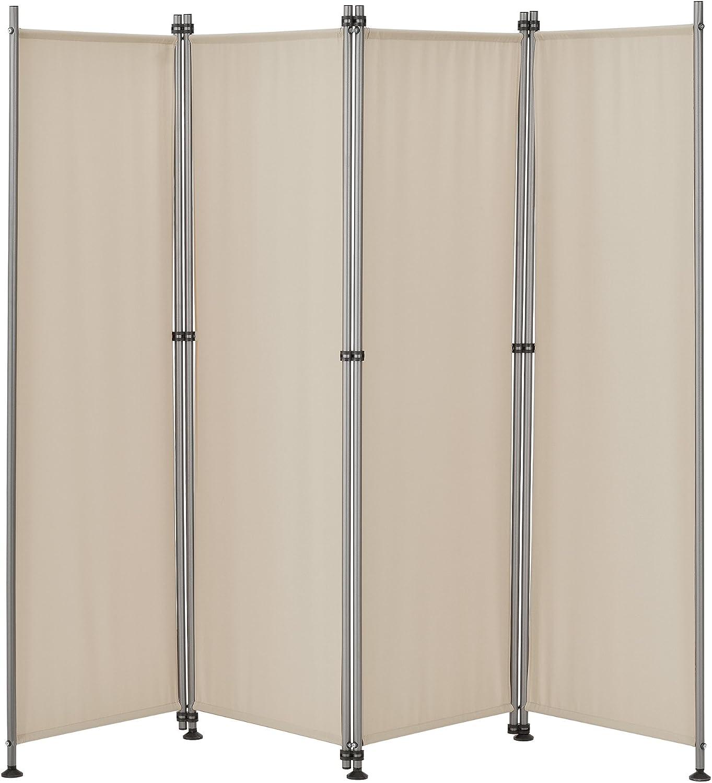 pro.tec]® Pared divisoria / Biombo - 215 x 170 cm - Color de arena ...