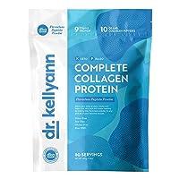 Hydrolyzed Collagen Peptides Protein Powder Unflavored - Grass Fed Paleo & Keto Collagen Supplement - Non-GMO, Gluten Free, Dairy Free, Soy Free - Protein 9g, 10g Collagen (60 Servings 1.3lbs)
