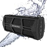 ACOOSTA BOLD 550, IPX5 Waterproof, Portable Wireless Bluetooth Speaker (10 watt) with Loud Bass, Shockproof with Built in Mic, SD Card, Aux & Upto 12hrs of Playtime (2500 mAh Battery) - (Black)