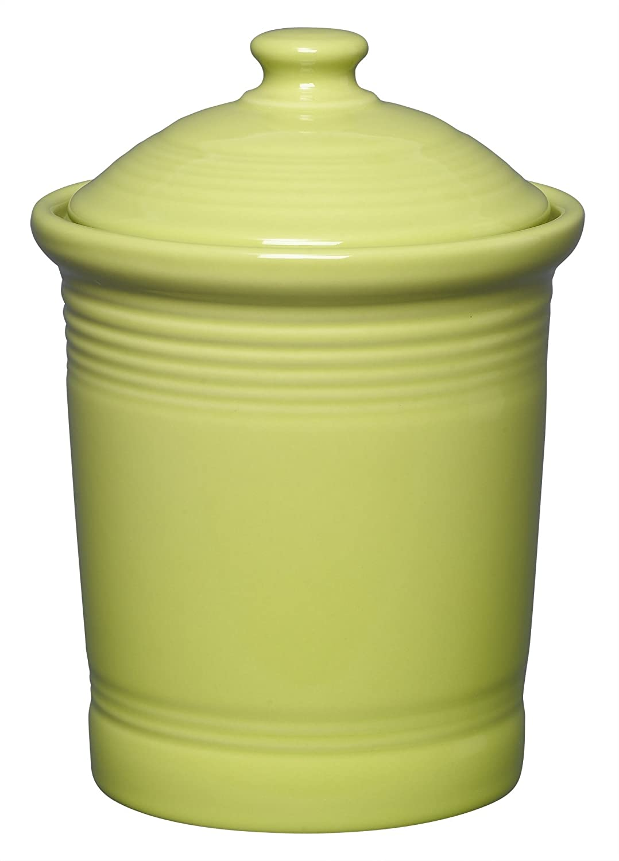 amazon com fiesta 1 quart small canister scarlet kitchen u0026 dining
