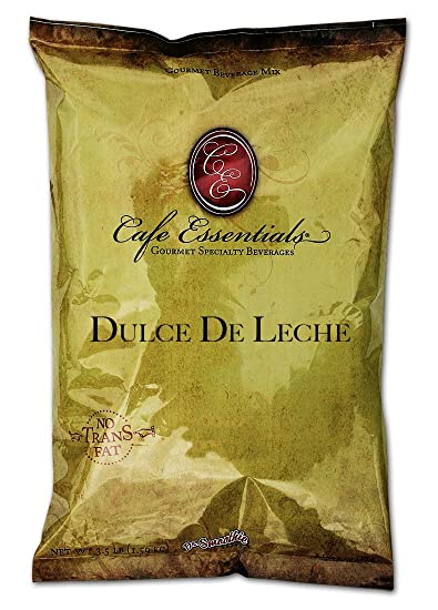 Cafe Essentials Dulce De Leche Beverage Mix, 3.5-Pound Bag