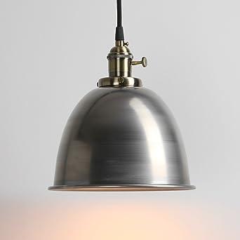 Pendelleuchten Design pathson industrie loft pendelleuchte antik deko design metall schirm