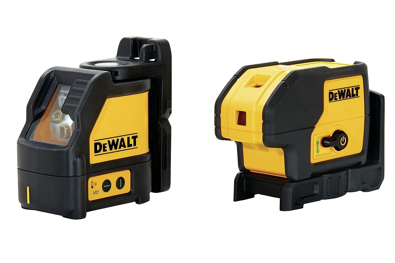 DEWALT DW0883CG TSTAK Laser Kit: DW088CG Cross Line + DW083CG 3-spot Laser