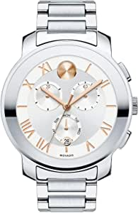 Movado Silver Stainless Silver dial Watch for Women, Men 3600205