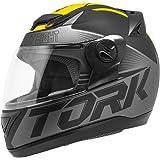 Pro Tork Capacete Evolution G7 Fosco 60 Preto/Amarelo