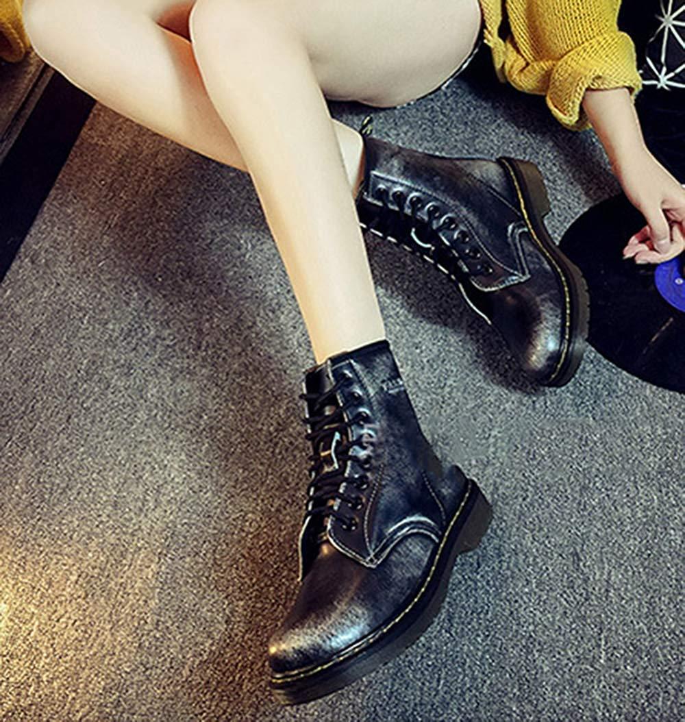 Fuxitoggo Männer Und Frauen Frauen Frauen Knöchel Martin Stiefel Warm Plus Baumwolle Schneeschuhe Liebhaber Schuhe (Farbe   2, Größe   41EU) bec9d3