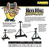 "Sumner 780942 Reel Mac No. 70 Screw-Type Reel Jack, 21"" to 54"" Adjustable Height, 2500 lb. Capacity"
