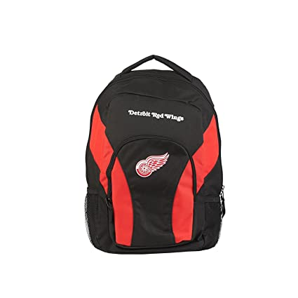 DETROIT REDWINGS BLACK ROADBLOCK DUFFLE BAG NEW /& OFFICIALLY LICENSED