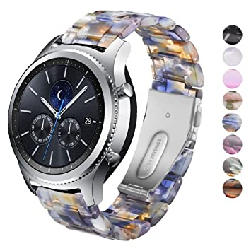 DEALELE Band Compatible for Samsung Gear S3 Frontier ...