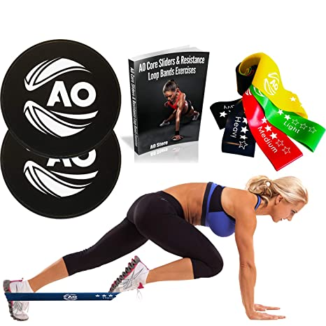 Fitness Equipments 100% True 2 X Gliding Discs Core Sliders Dual Sided Fitness Home Gym Abs Exercise Workouts Fitness & Body Building