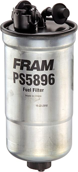 [DVZP_7254]   Amazon.com: FRAM PS5896 Inline Fuel/Water Separator Canister Filter with  Drain (Diesel): Automotive | Fram Fuel Filter Assembly |  | Amazon.com