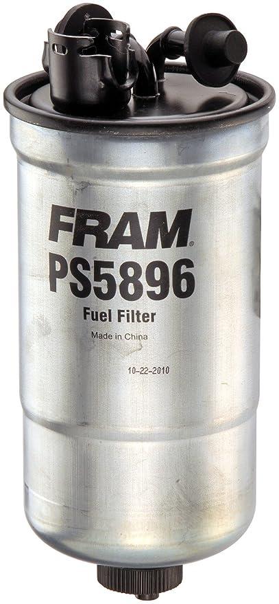 fram ps5896 inline fuel water separator canister filter with drain (diesel) Fram HPG1 Fuel Filter