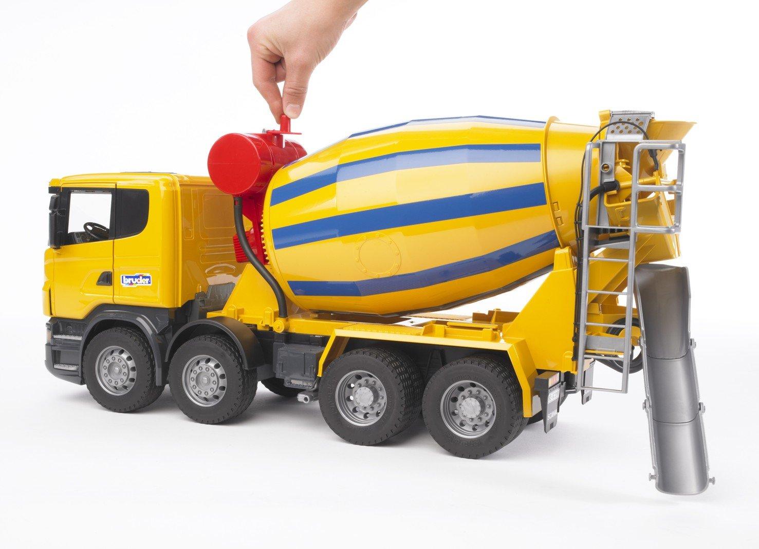 amazon com bruder scania r series cement mixer truck toys u0026 games