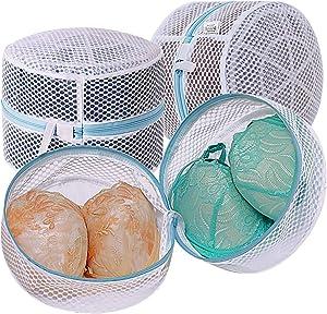 TENRAI Bra Laundry Bag, Mesh Laundry Bag for Delicates, Bra Washing Bag for D to G Cup,3 Pack (QS)