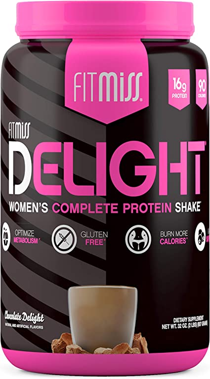 Amazon.com: FitMiss Delight Protein Powder, Healthy Nutritional ...