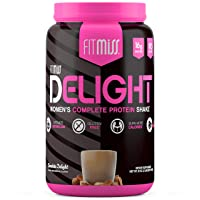 FitMiss Delight Protein Powder, Healthy Nutritional Shake for Women, Whey Protein...