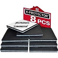 Meubelpads X-PROTECTOR - Antislippads - Premium 8 stuks 100 mm - Vloerbeschermers - Rubberen voetjes voor meubelpoten…