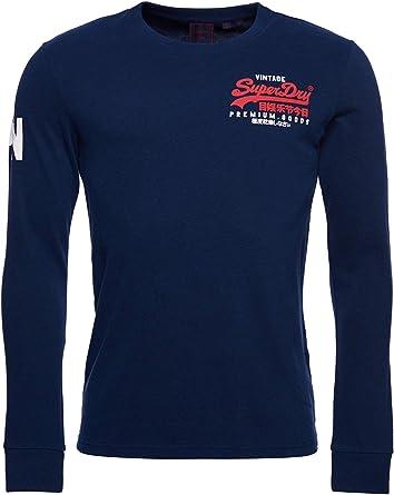 Superdry LS Top Camisa para Hombre