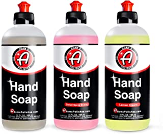 product image for Adam's Hand Soap - All Purpose Liquid Soap For Home, Kitchen, Bathroom & Garage | Scented Hand Wash Cleaners | Cleans Car Wash Soap, Car Wax & Car Detailing Chemicals Cleaning Supplies