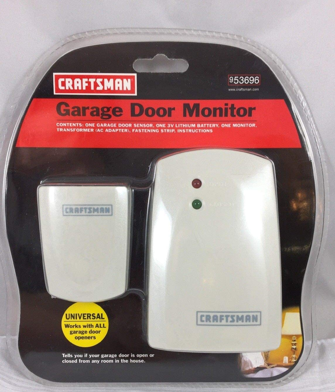 Amazon Com Craftsman Wireless Garage Door Monitor 53696 Home Improvement