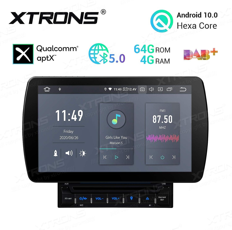 9 Zoll 1 DIN Autoradio GPS Navi Android 10.0 Stereo BT HDMI DAB 4GB+64GB OBD AUX