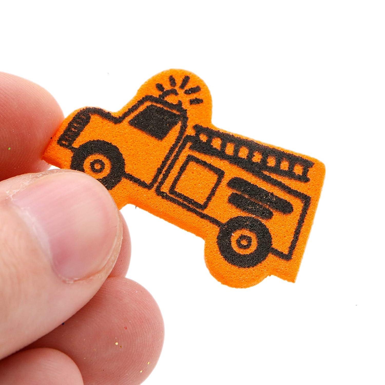 WSSROGY About 180Pcs Self Adhesive Foam Craft Stickers Car Foam Stickers Kids