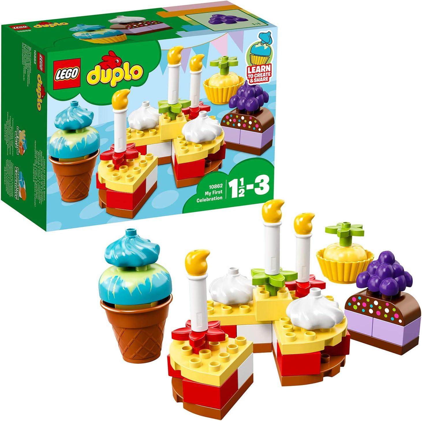 LEGO DUPLO - Mi Primera celebración (10862): Amazon.es: Juguetes y juegos