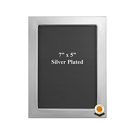 Luton Town football club silver plated photo frame