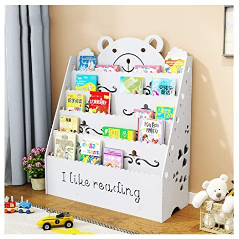 Amazon.com: Bookcase for Girls Bedroom Storage Shelving Unit ...