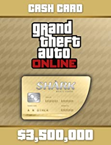Grand Theft Auto V:Whale Shark Cash Card - PS4 [Digital Code]