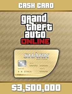 Grand Theft Auto V:Whale Shark Cash Card - PS4 [Digital Code]