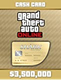 Grand Theft Auto Online | GTA V Whale Shark Cash Card | 3,500,000 GTA-Dollars | Code Jeu PC - Digital