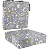 Kisangel Grey Portable High Chair Booster Cushion Thickening Baby High Chair Seat Cushion Liner Mat Pad Cover Breathable…