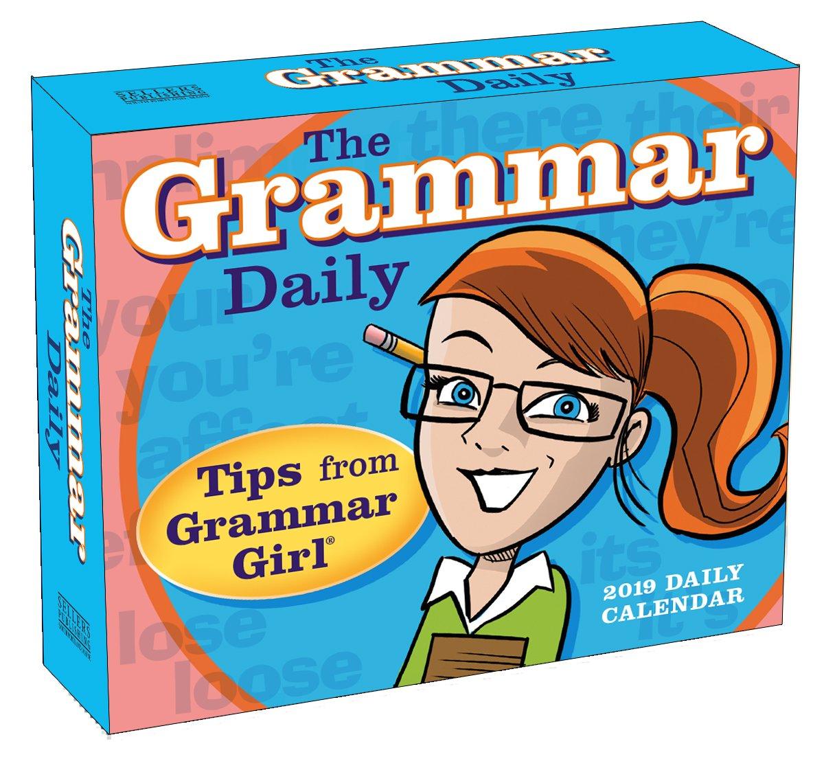 The Grammar Daily 2019 Boxed Daily Calendar, 6 x 5, (CB-0514)