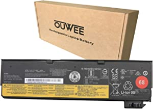 OUWEE 45N1126 Laptop Battery Compatible with Lenovo ThinkPad A275 X240 X250 X260 X270 T440 T450 T460 T470P L450 L460 T550 T560 W550 P50S Series 45N1124 45N1136 45N1738 45N1777 68 11.4V 24Wh 2060mAh