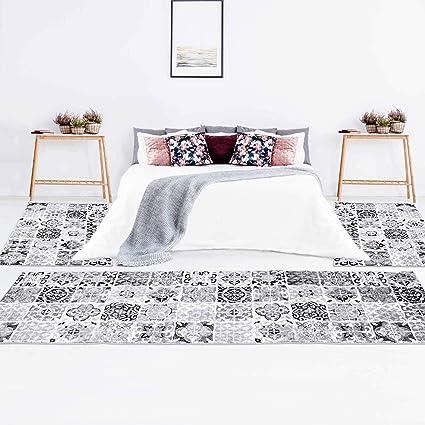 carpet city - Set di 3 tappeti per Camera da Letto, Motivo ...