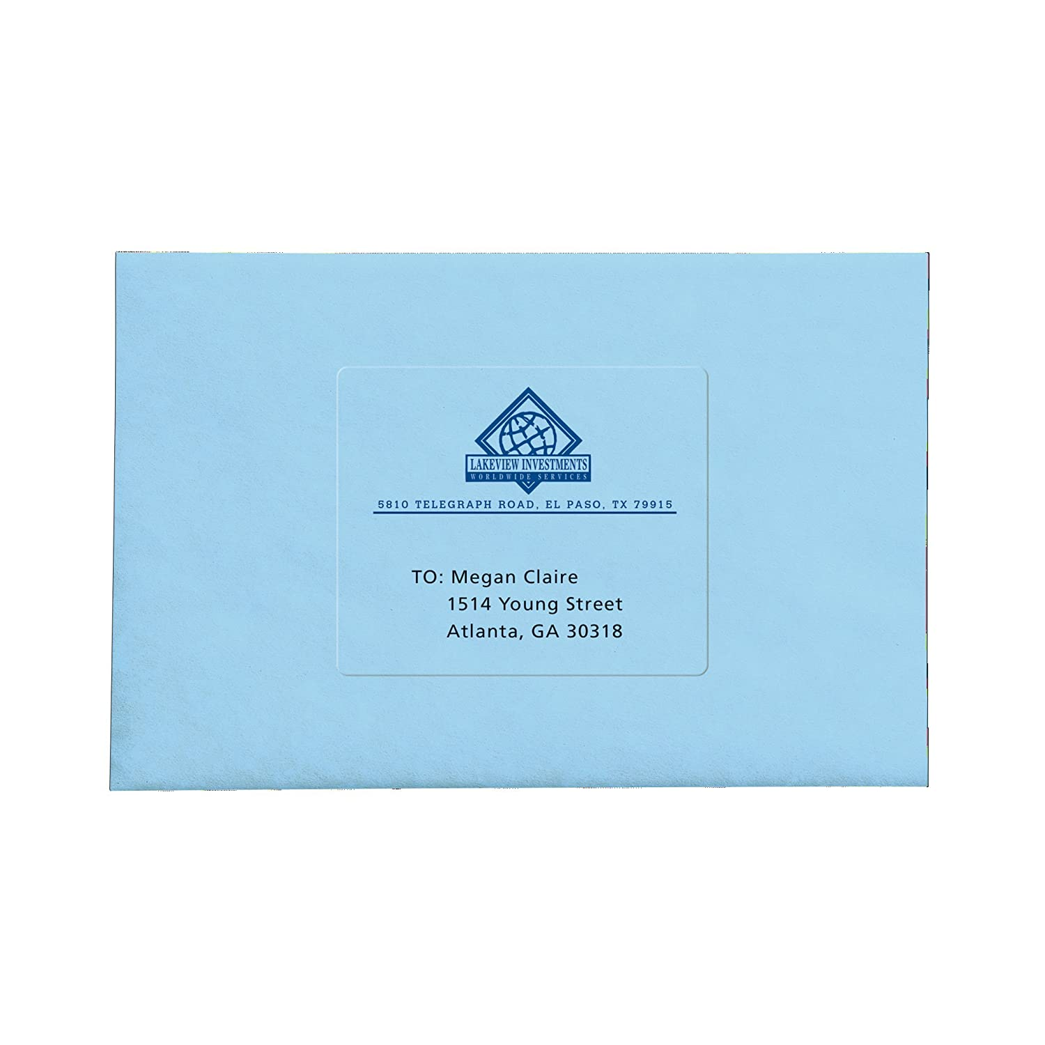 Amazon.com : Avery Clear Easy Peel Shipping Labels for Inkjet ...