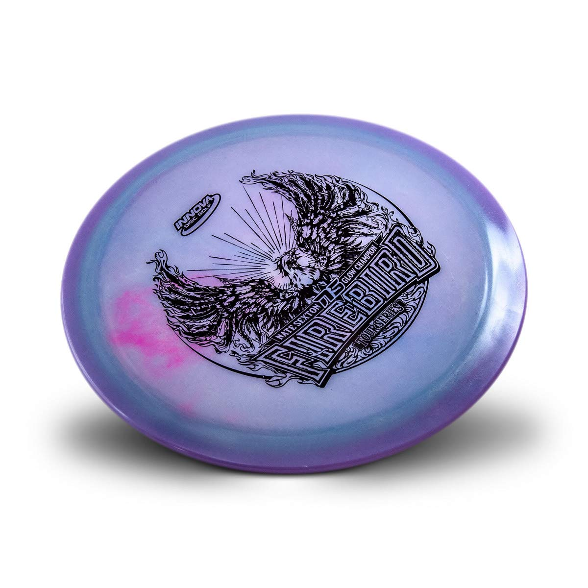 Innova Limited Edition 2019 Tour Series Nate Sexton Color Glow Champion Firebird Distance Driver Golf Disc [Colors May Vary] - 173-175g by Innova Disc Golf