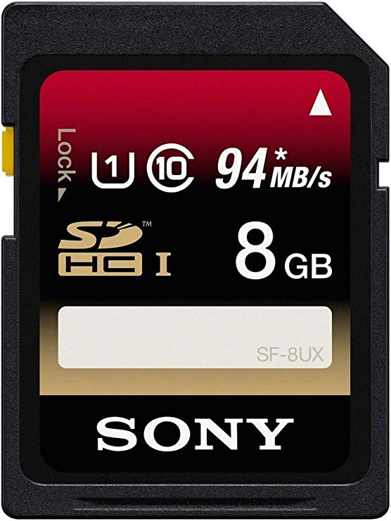 Sony 32GB Class 10 UHS-1/U3 SDHC up to 94MB/s Memory Card (SF32UX2/TQ)[NEWEST VERSION]