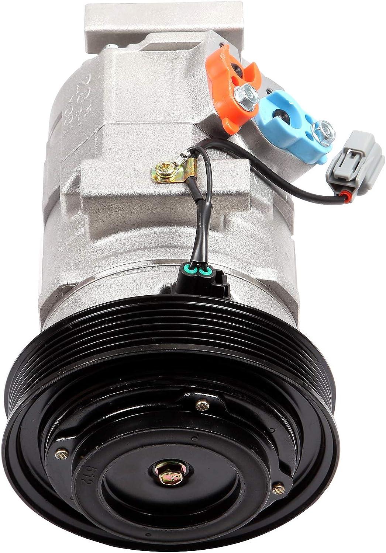 ECCPP A//C Compressor with Clutch CO 10736C fit for 2003-2008 Acura MDX TL Honda Accord Odyssey Pilot Ridgeline