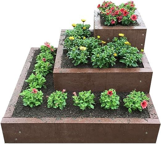 Hierbas Escaleras/Escaleras de flores syntal 22130.003 material: Amazon.es: Jardín