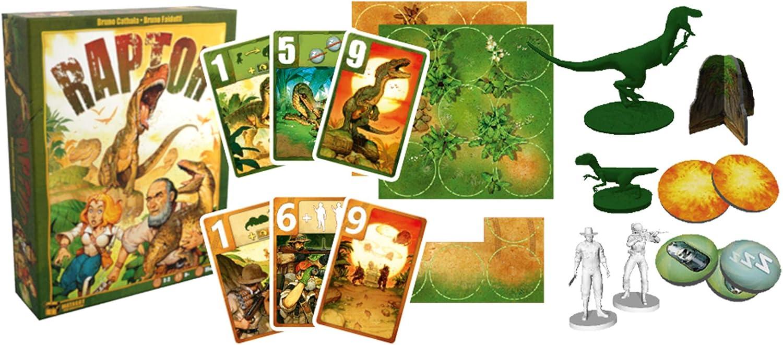 Asmodee- Juego de Tablero Raptor (ADE0RAP02ML): Amazon.es: Juguetes y juegos