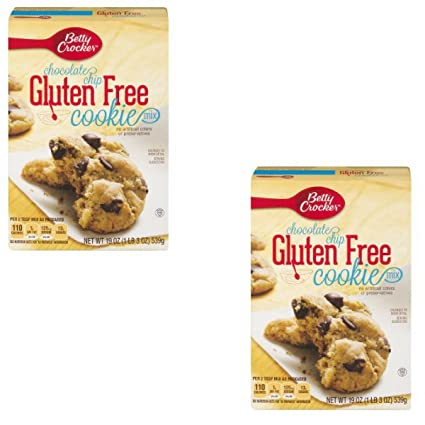 Betty Crocker sin gluten chocolate chip Cookie mezclar, 19.0 ...