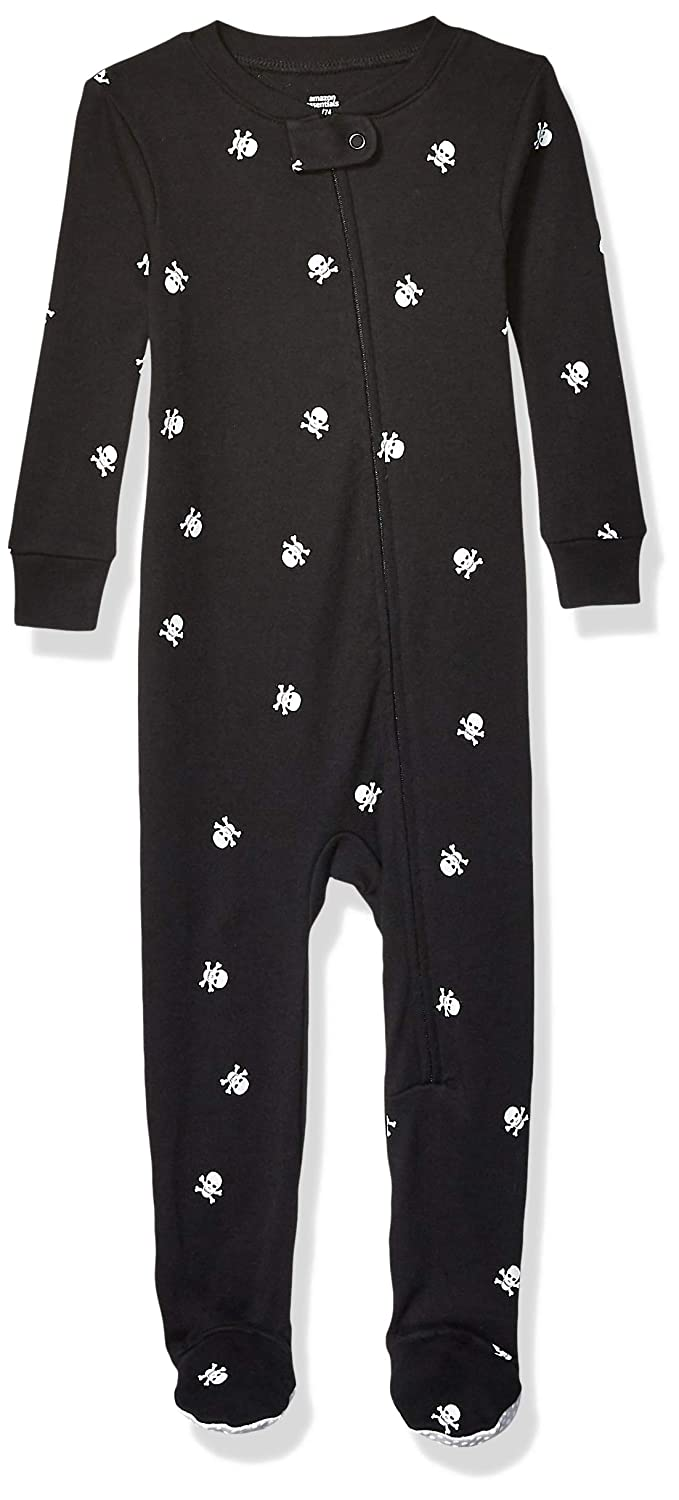Essentials Unisex Kinder infant-and-toddler-sleepers Baby And Toddler Zip-front Footed Sleeper